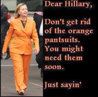 hillary-orange-jumpsuit