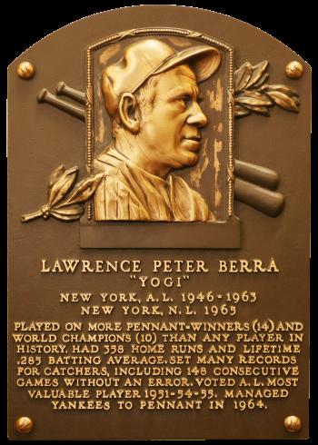 Berra Yogi Plaque 74_NBL_0