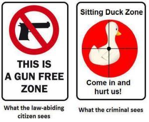 gun-free-sitting-duck