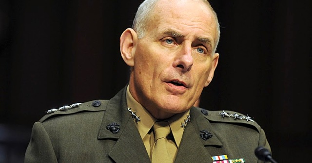 Lieutenant General John F. Kelly, USMC to be general and Commander, United States Southern Command testifies at a hearing before the Senate Armed Services Committee July 19, 2012 in Washington DC . Thomas Brown/Staff