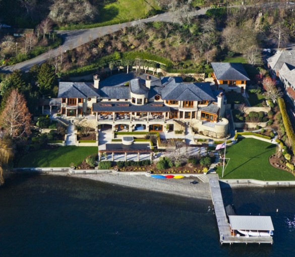 Bill Gates - Net Worth, Cars, House, Jet, Yacht, Wiki  |Bill Gates And His House